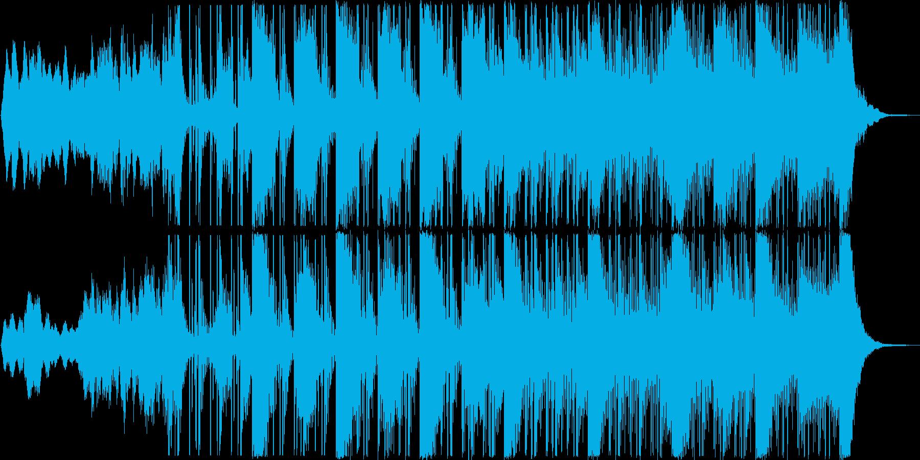 ハリウッド風[ サスペンスホラー アク…の再生済みの波形