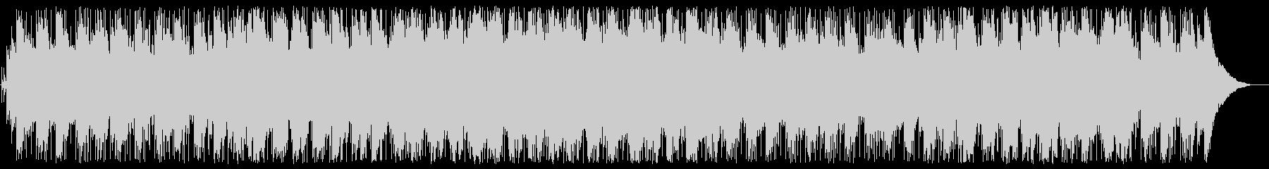 ゆったりとしたリラックスBGMの未再生の波形