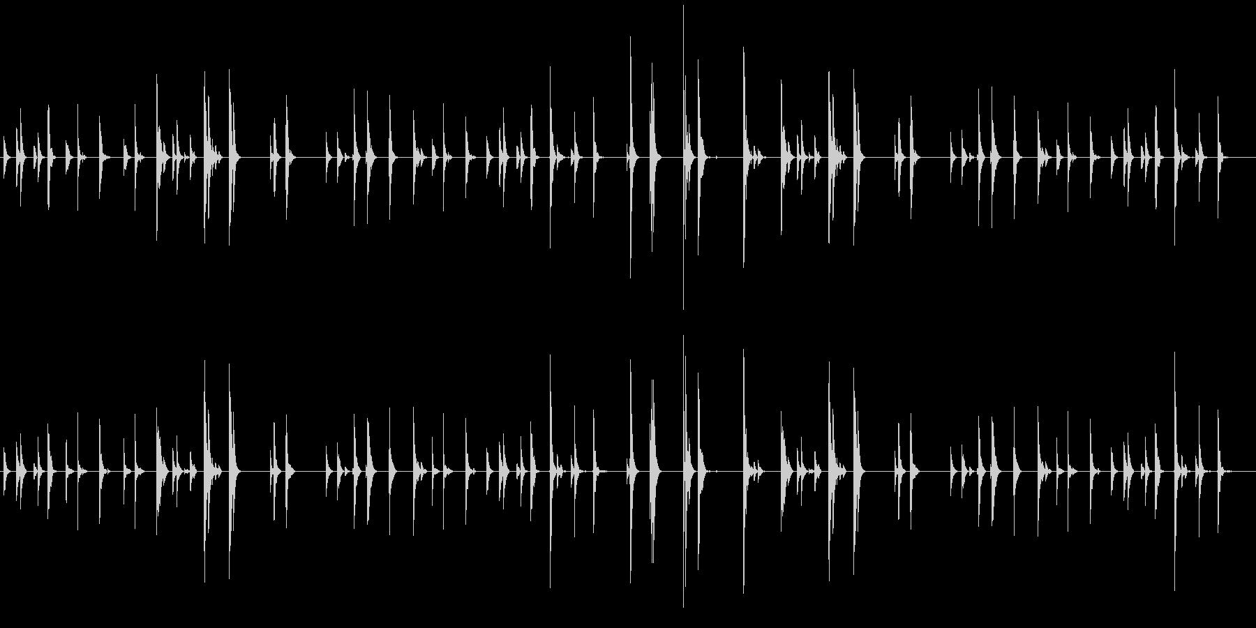 チリン、チリーン 夏の音の未再生の波形