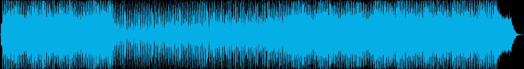 ストリングスを使ったポップBGMの再生済みの波形