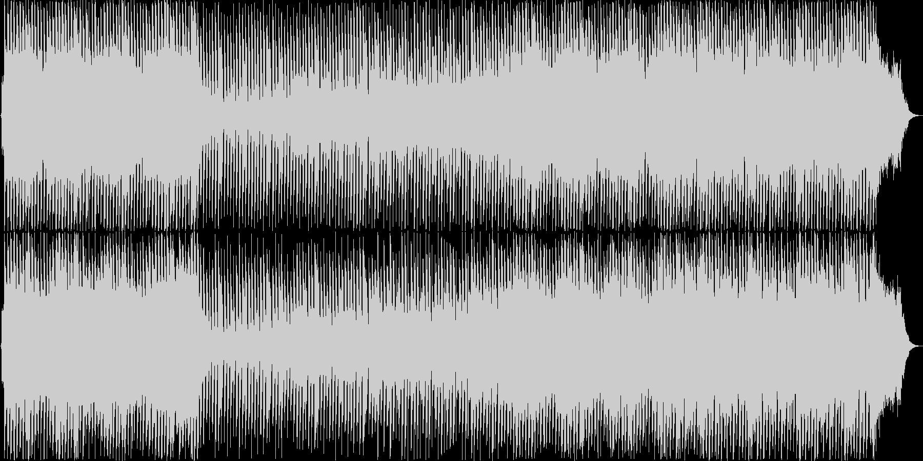 ストリングスを使ったポップBGMの未再生の波形