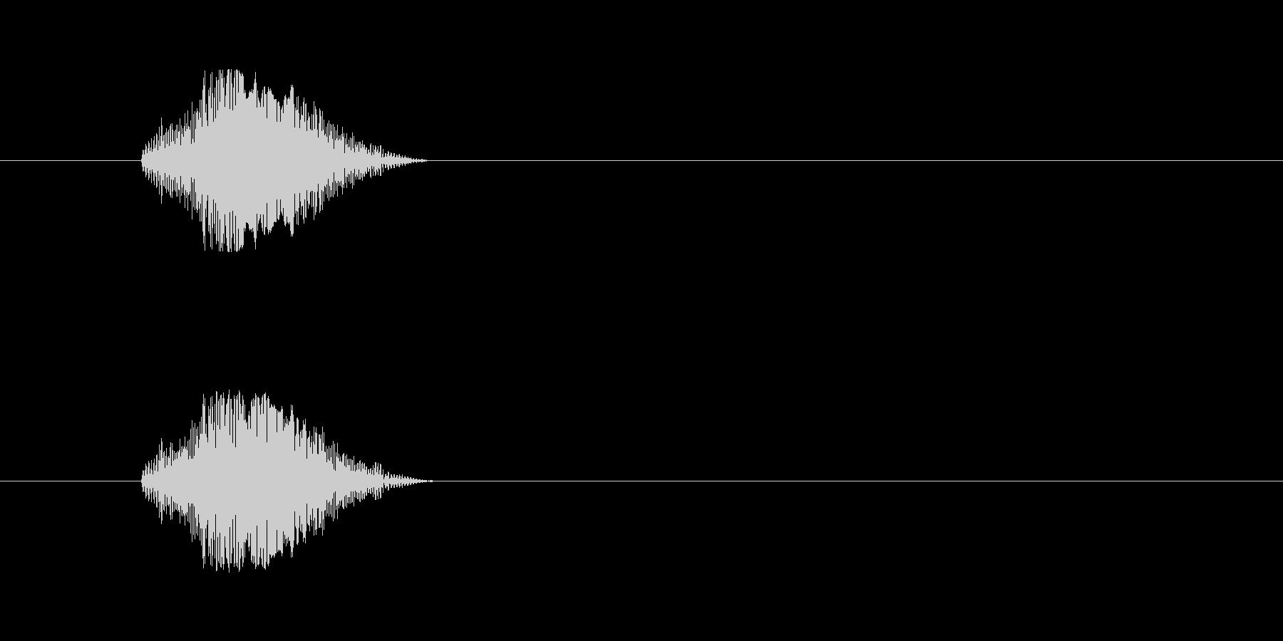 【猫 合成01-2】の未再生の波形
