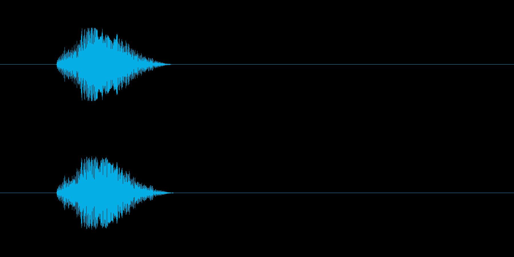 【猫 合成01-2】の再生済みの波形