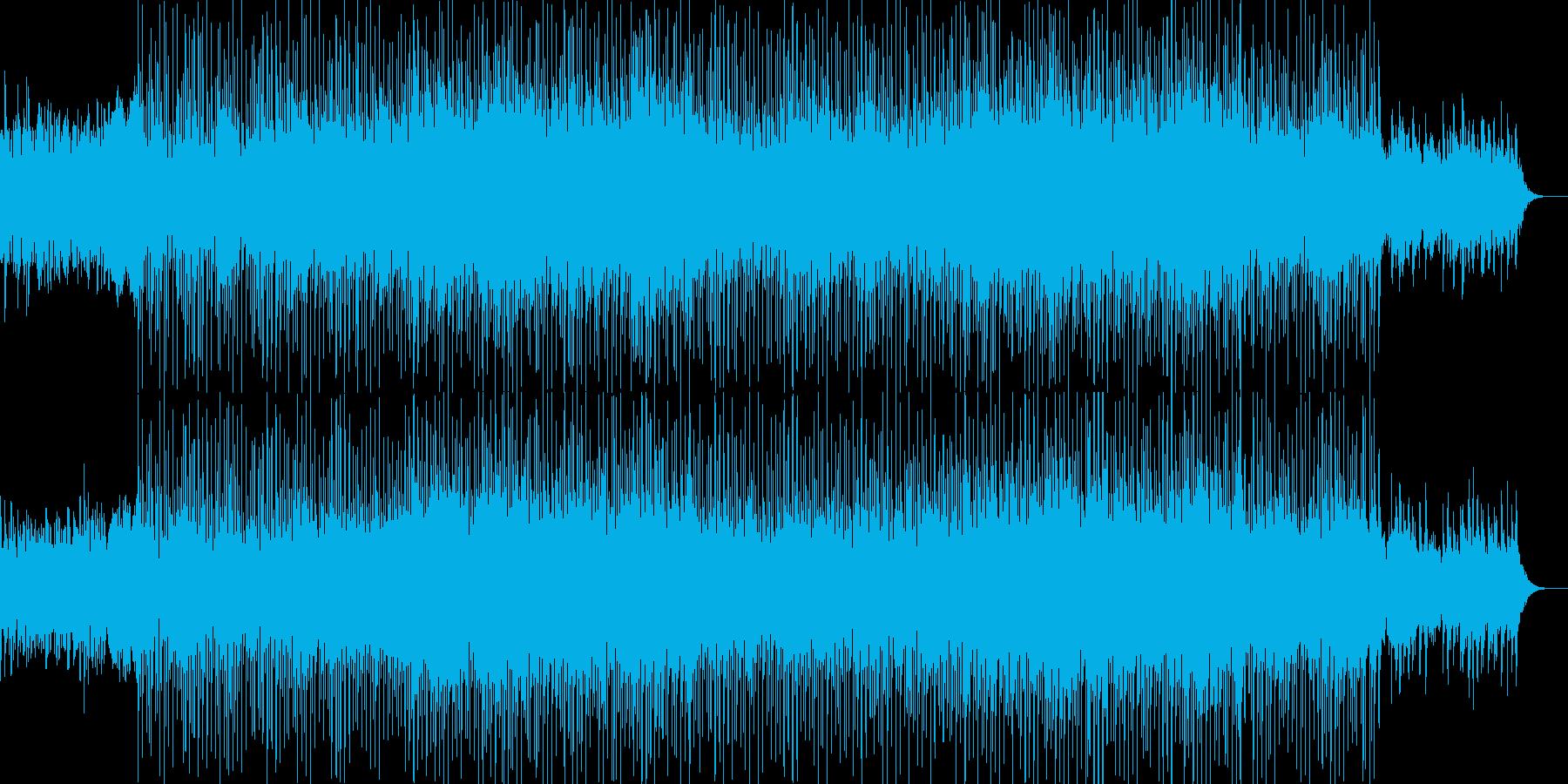 ポップなシンセアンサンブルの再生済みの波形