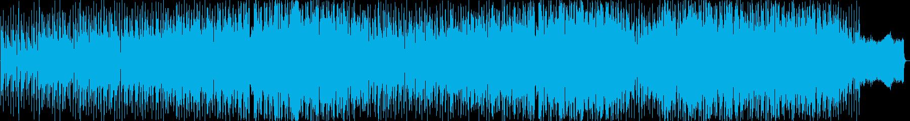 明るい雰囲気のシャッフルダンスポップの再生済みの波形