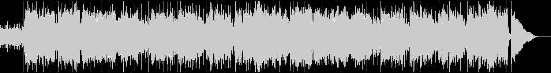 リコーダーとアコギのほのぼのとしたBGMの未再生の波形