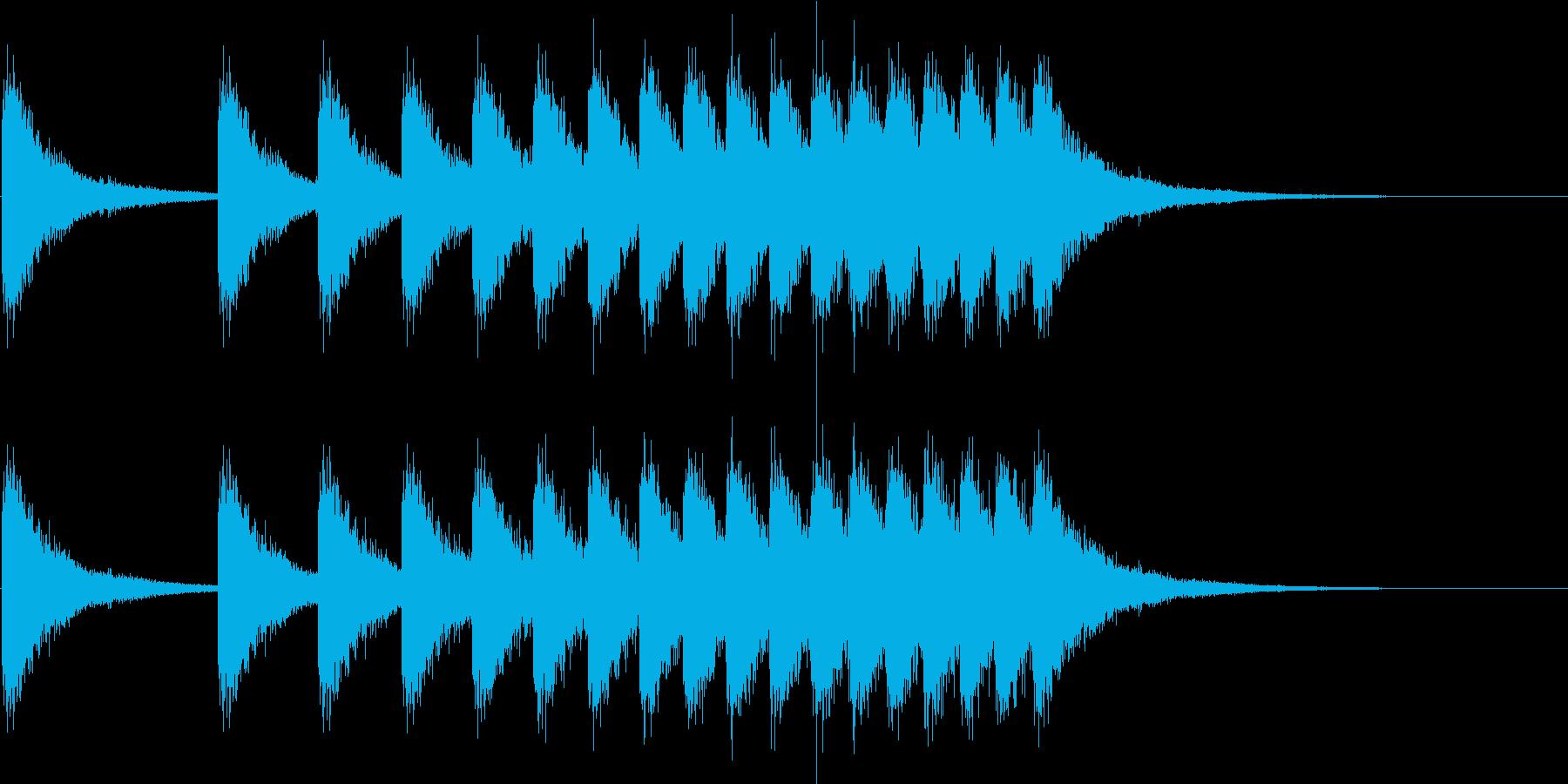 [シャン]中華風シンバル/中国/04の再生済みの波形