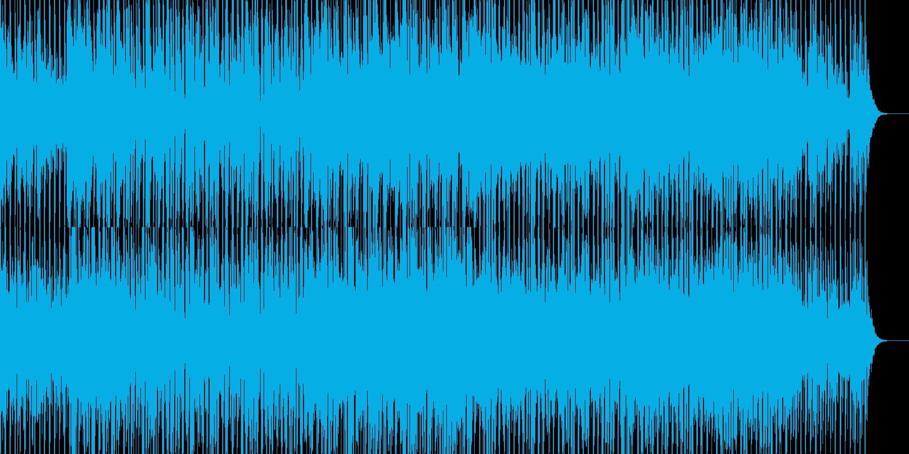 中華風のダンスミュージックの再生済みの波形