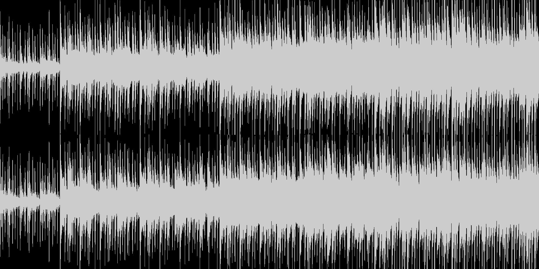 ウッドベースが印象的な楽しいセッション曲の未再生の波形