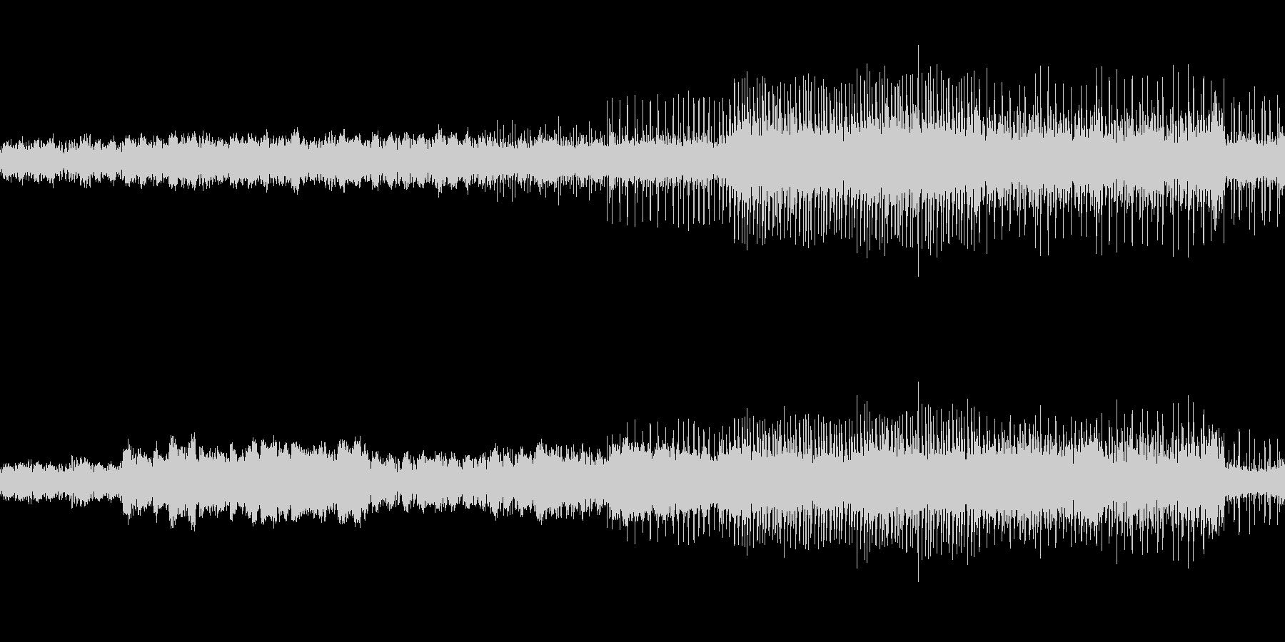 映像、フィールドBGM(ケルト風)の未再生の波形
