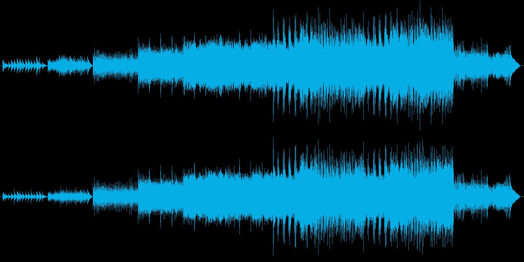 ビブラフォンの音がメインのほのぼの系の再生済みの波形