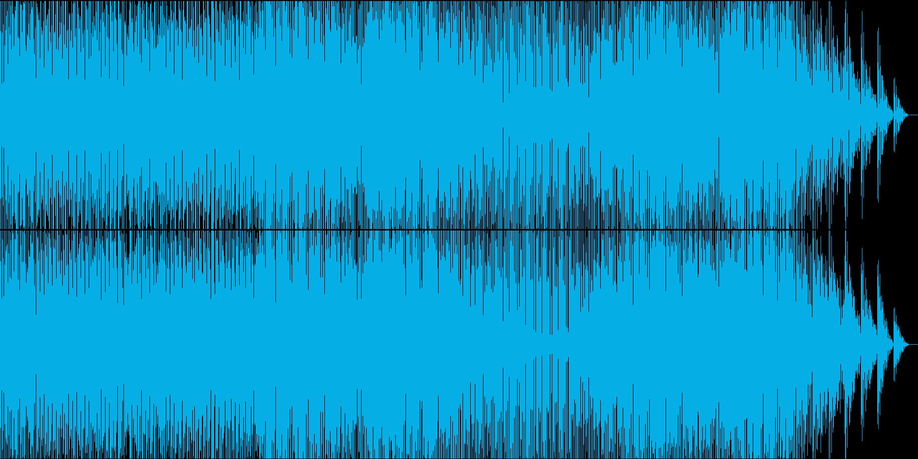 時代を駆ける熱い厚いでもクールなビートの再生済みの波形