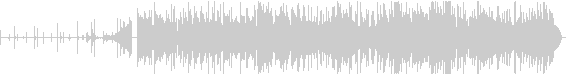 CM用!30秒で完結するポストロック曲の未再生の波形