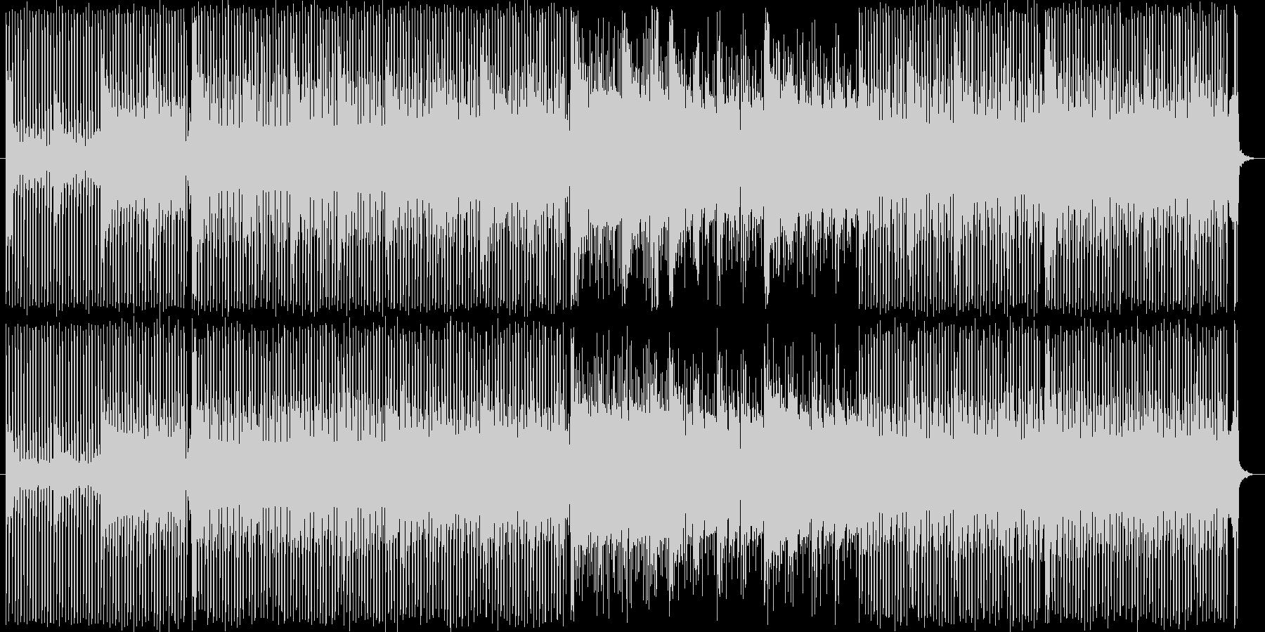 四つ打ちのアンビエント寄りの曲です。の未再生の波形