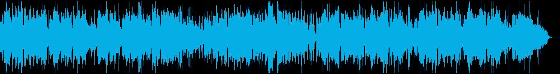 温泉や和をイメージしたBGMの再生済みの波形