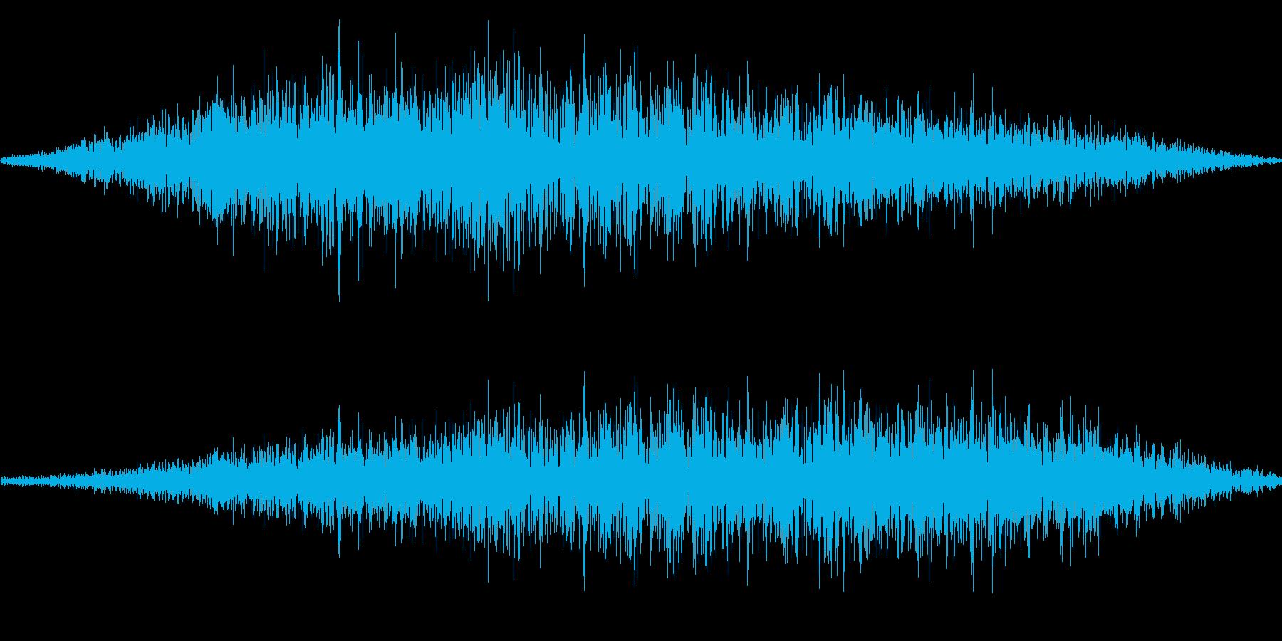 スワイプ音/風切り音/キャンセル音 9の再生済みの波形