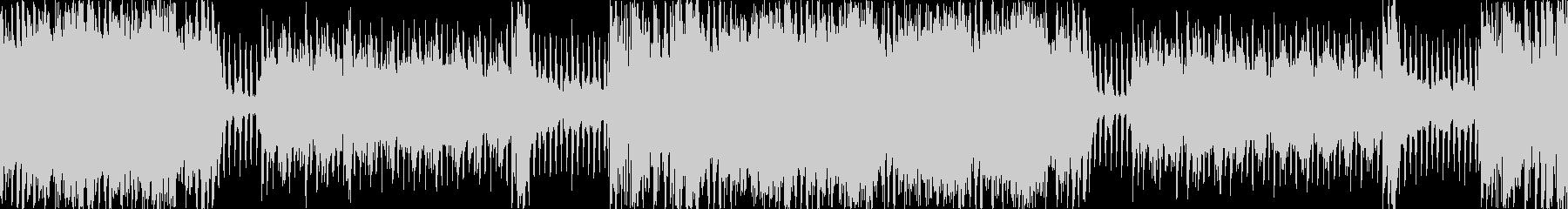 明るいシンフォニックな曲ですの未再生の波形