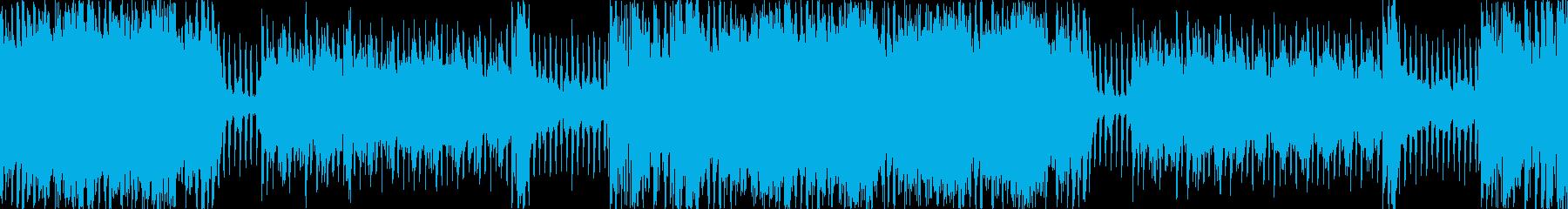 明るいシンフォニックな曲ですの再生済みの波形