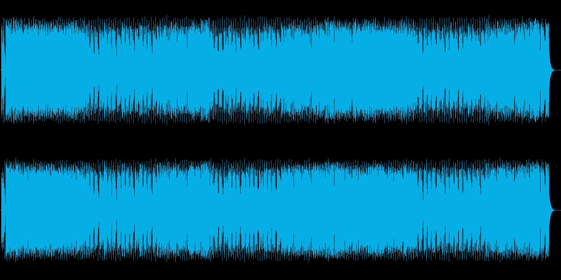 元気で明るい疾走感溢れるドラムポップスの再生済みの波形