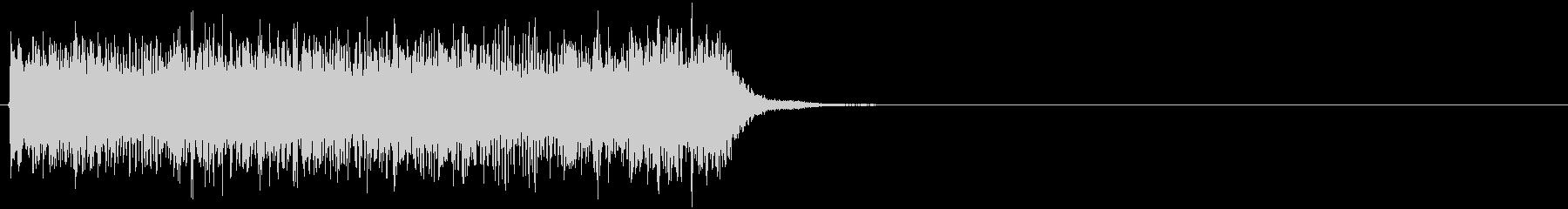 ビリビリビリビリ(感電音、電気)の未再生の波形