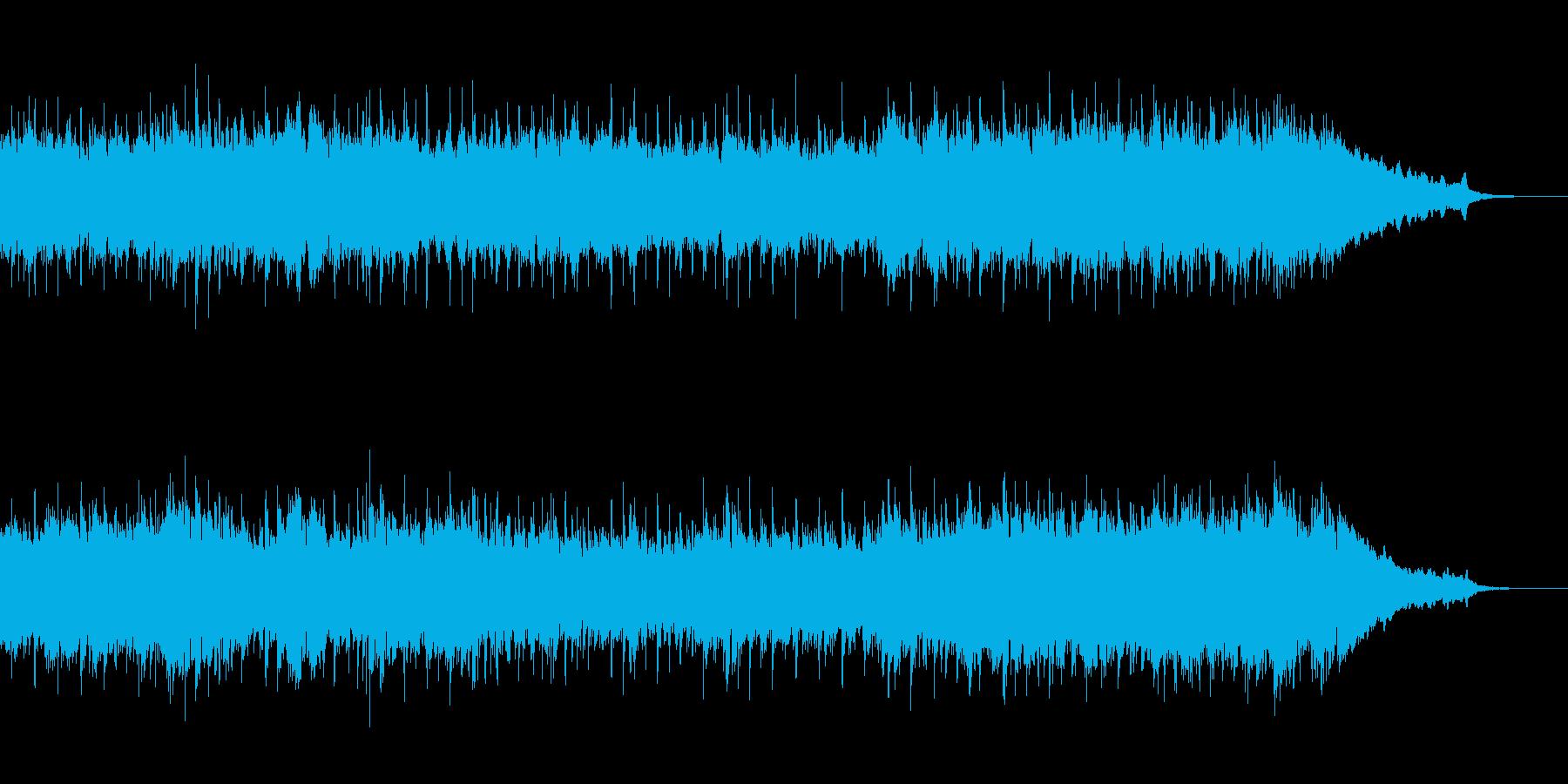 感動的な映像・CM・表彰式・ゲーム用の再生済みの波形