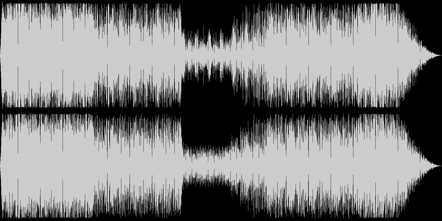 ソウルとDnBを合わせたクールな曲の未再生の波形