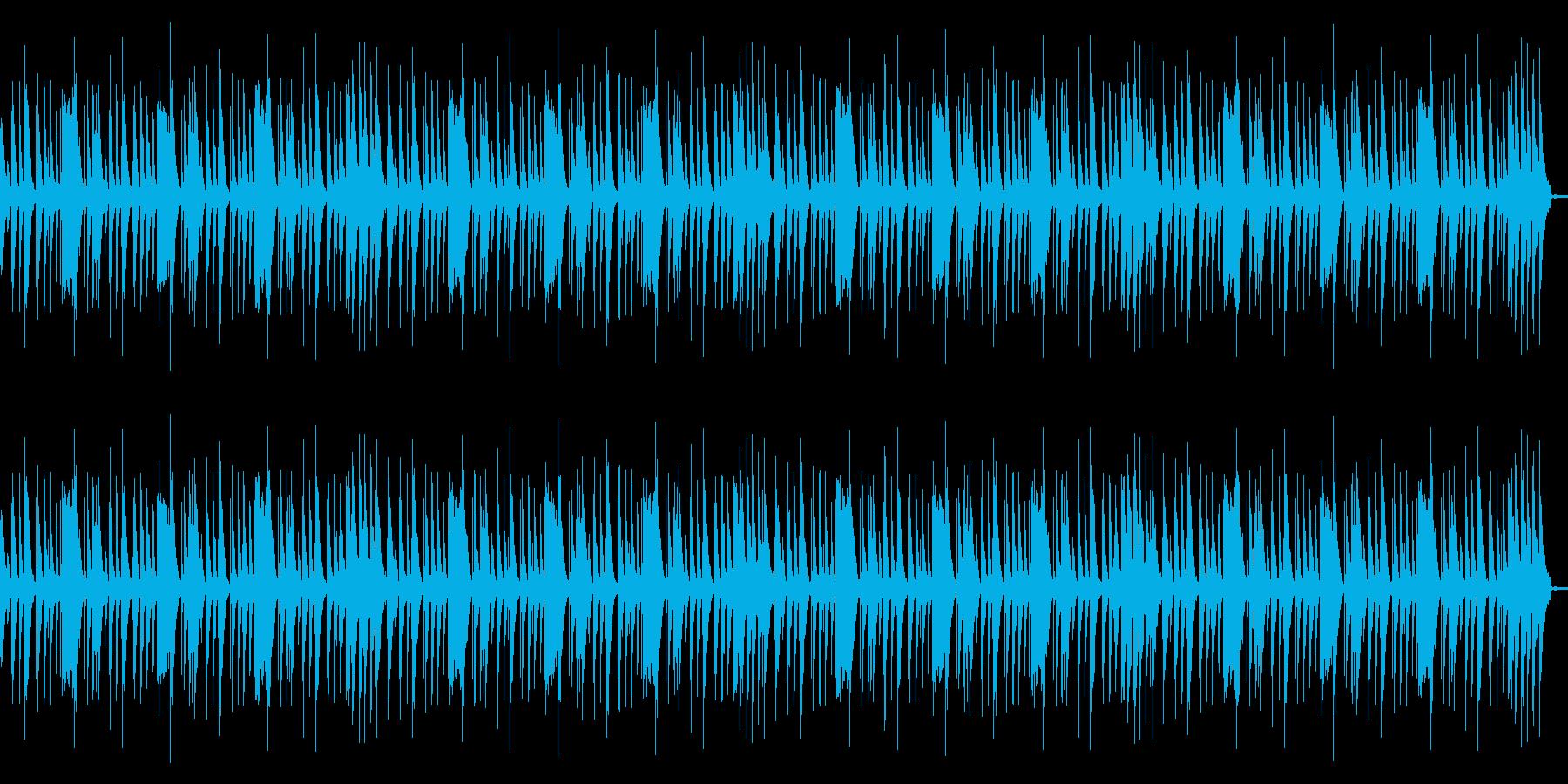 ローファイリズムループの再生済みの波形
