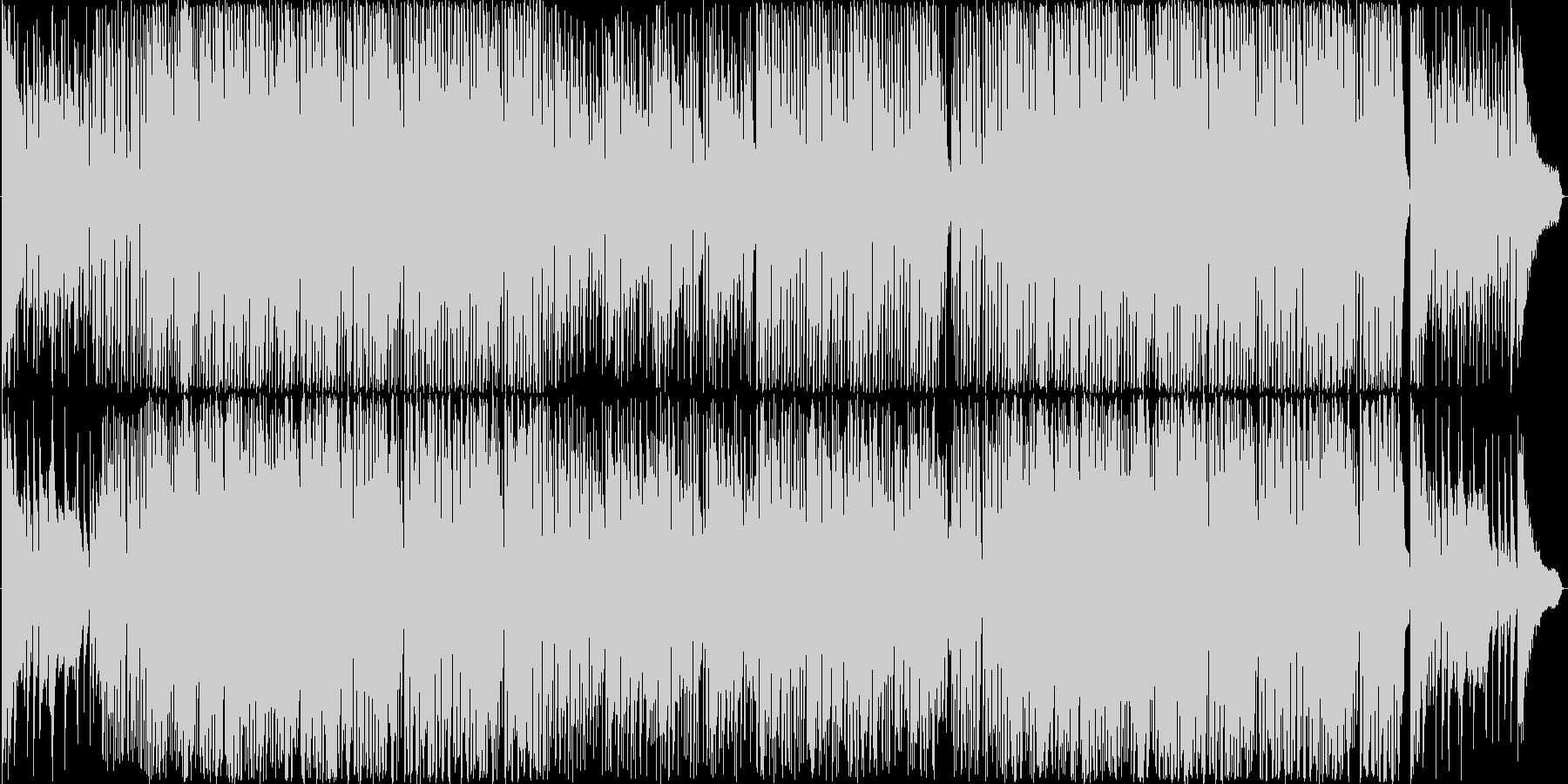 ジングルベル エレクトリカルパレード風の未再生の波形