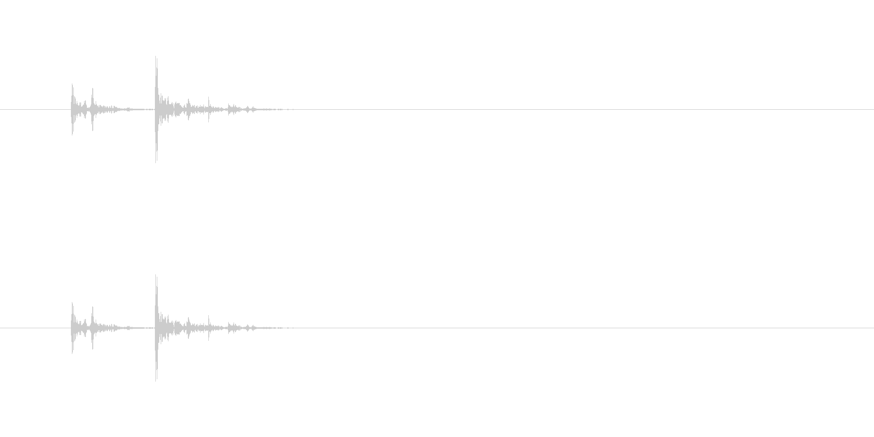 【消しゴム01-8(置く)】の未再生の波形