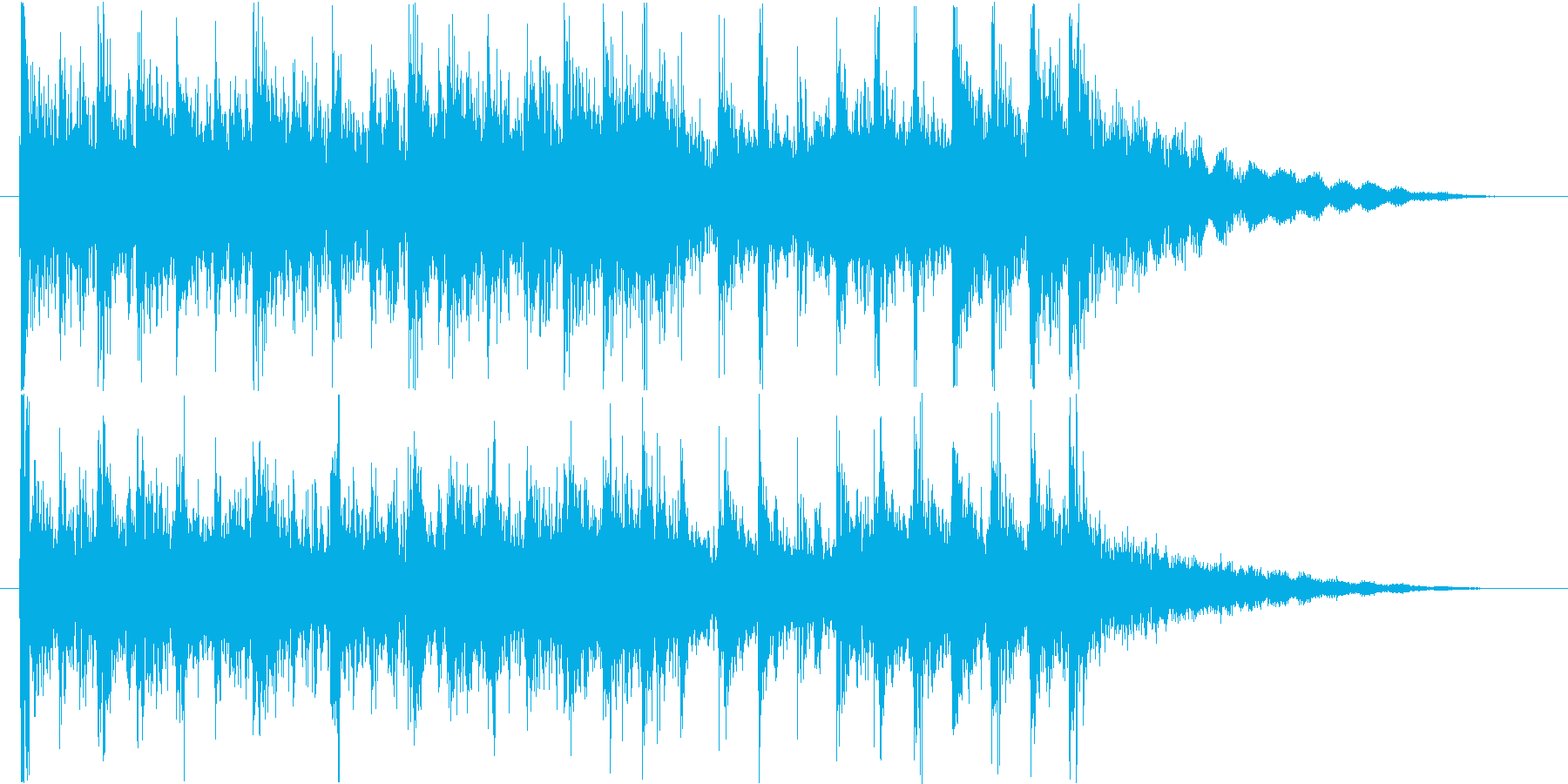 迫力&躍動感のあるアップビート和風ロゴ。の再生済みの波形