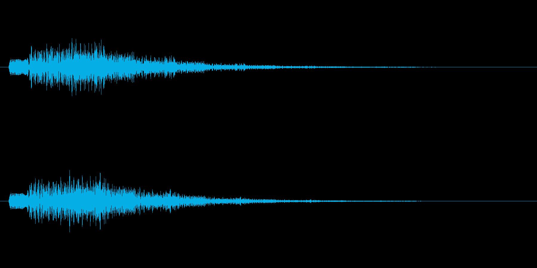 【プワプワ】魔法 泡 バブルの再生済みの波形