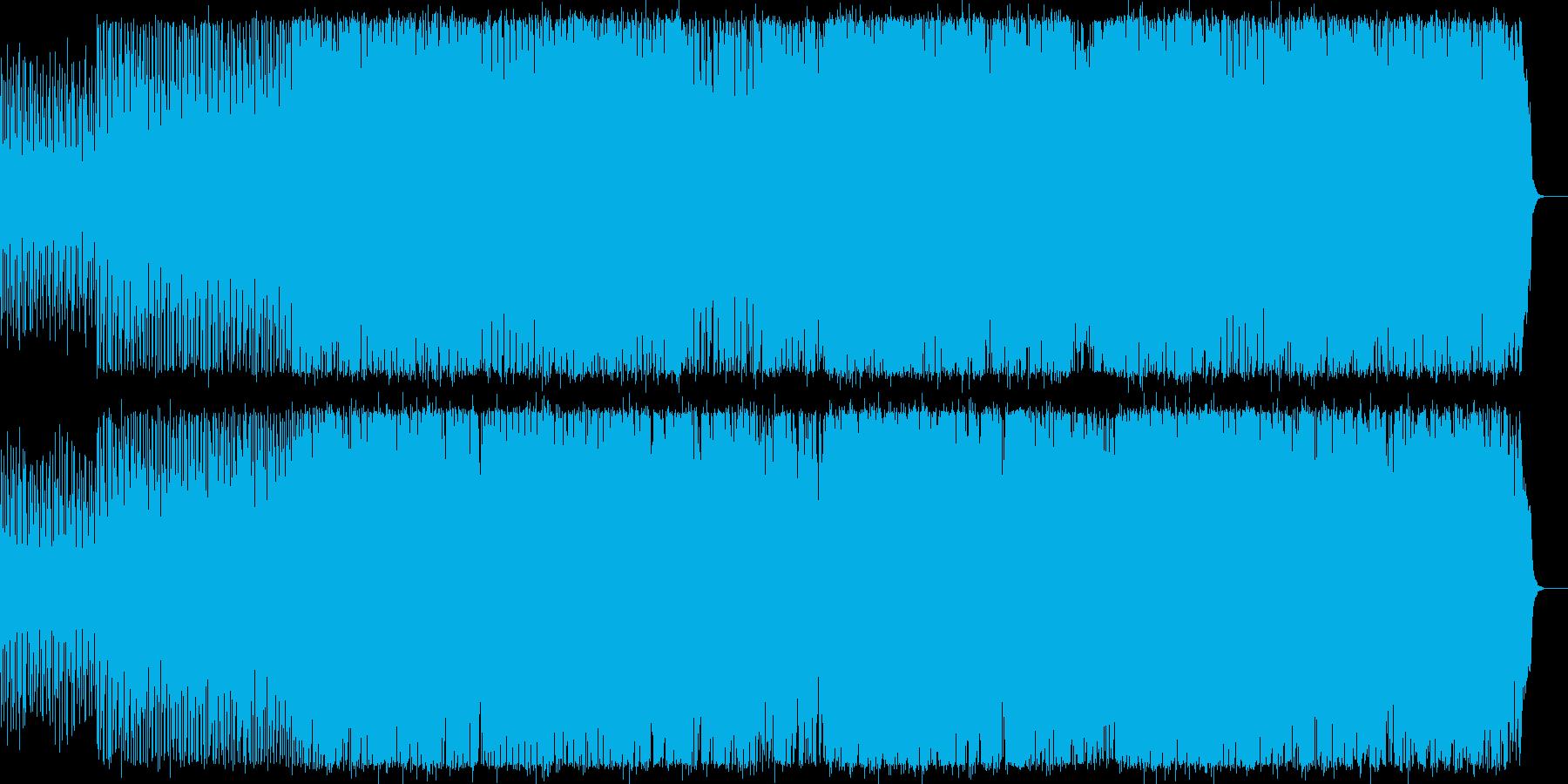 ちょっと切ないラテンダンスナンバーの再生済みの波形