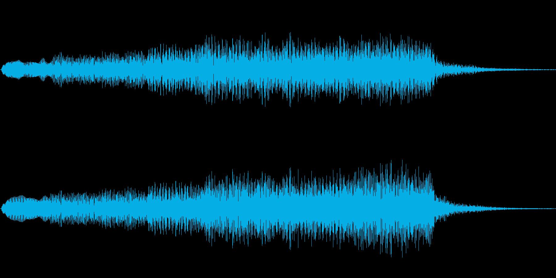 ジングル101mの再生済みの波形