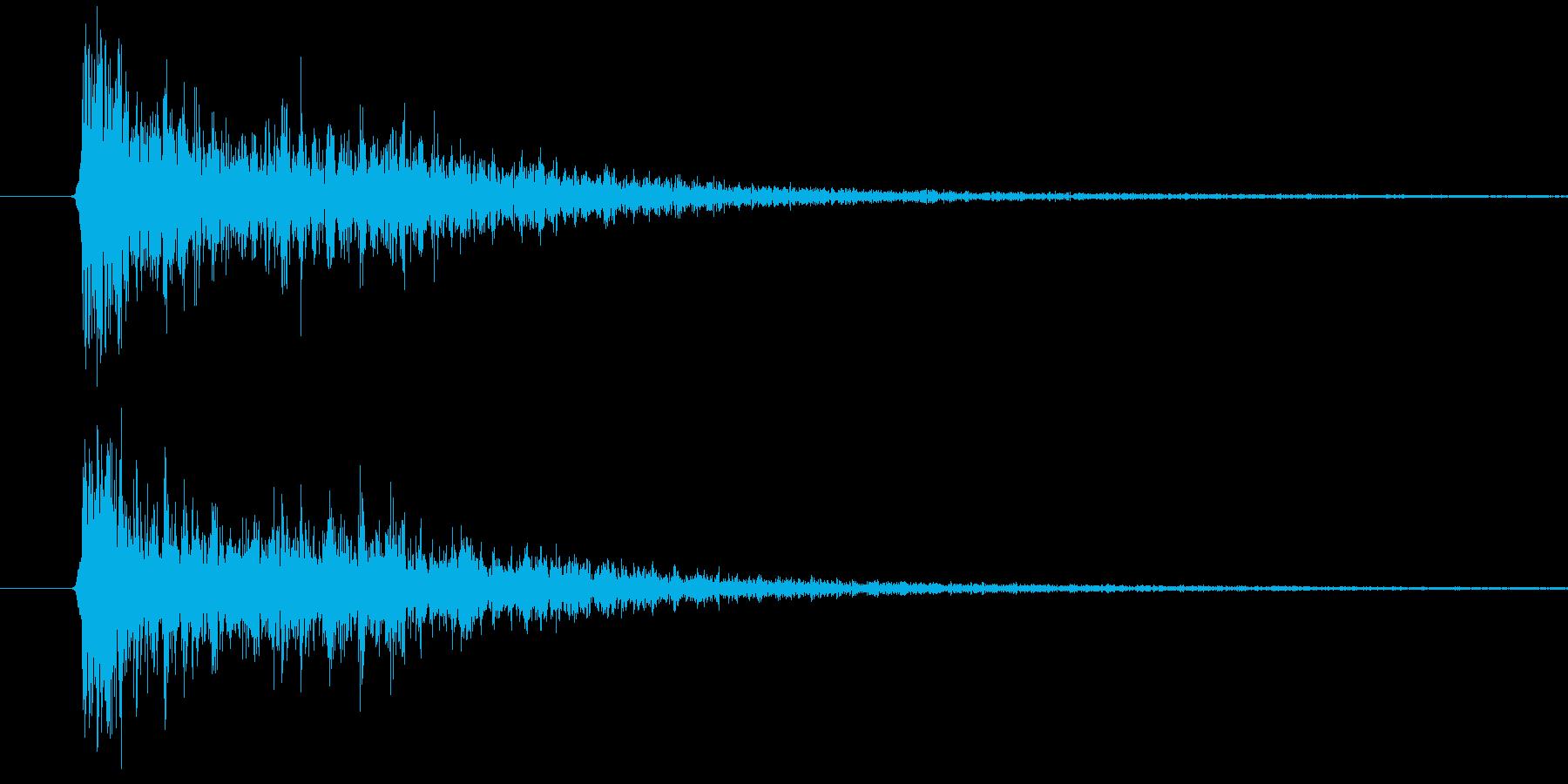 歌舞伎1(カッァー)の再生済みの波形