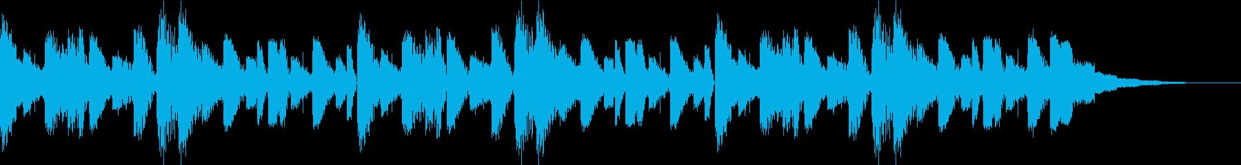 イントロBGMの再生済みの波形