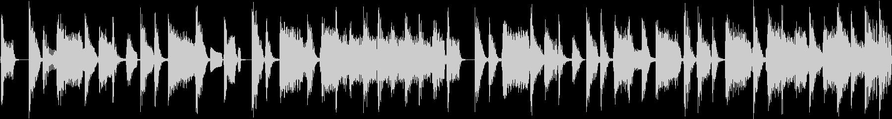 ソウル&ブルース系ダークな雰囲気_ループの未再生の波形