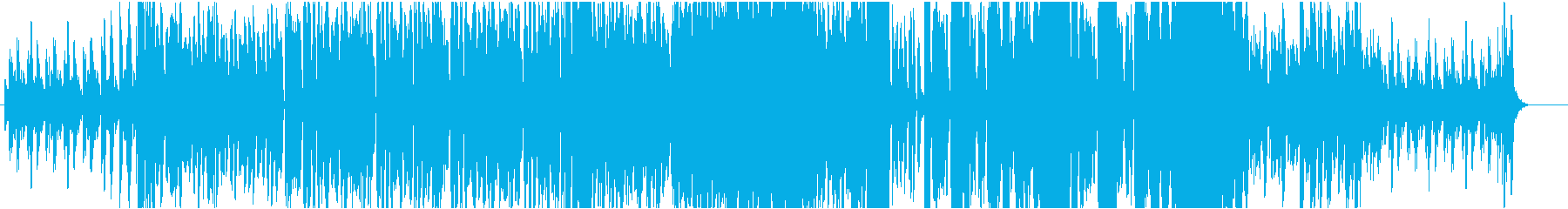 お洒落でかっこいいEDMの再生済みの波形