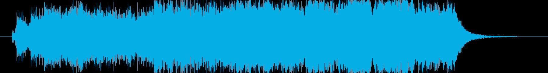 オープニングインパクト2の再生済みの波形