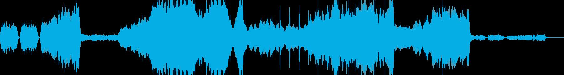 映画音楽 様々な場面で使えるオーケストラの再生済みの波形