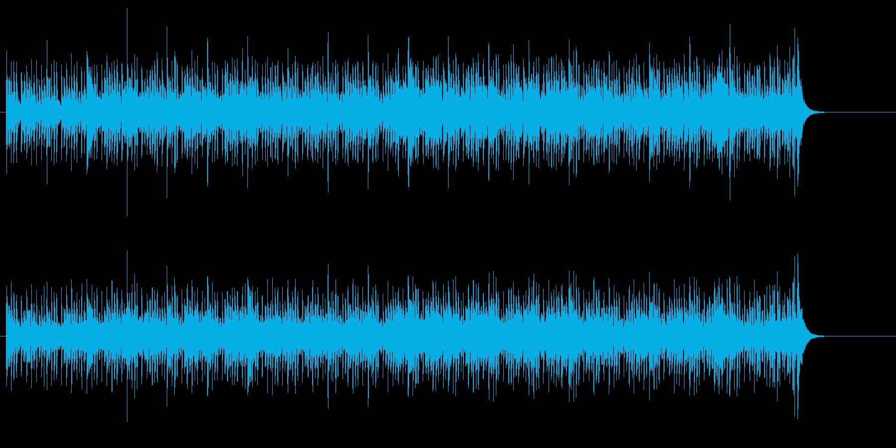明快なオープニング・テーマ風ポップスの再生済みの波形
