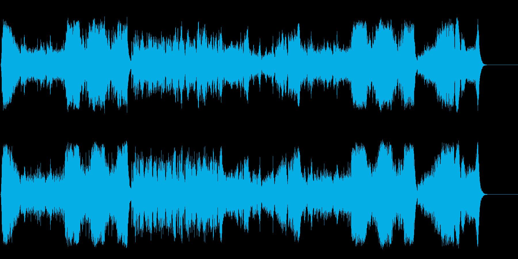 中世の悲劇を物語るオーケストラの再生済みの波形