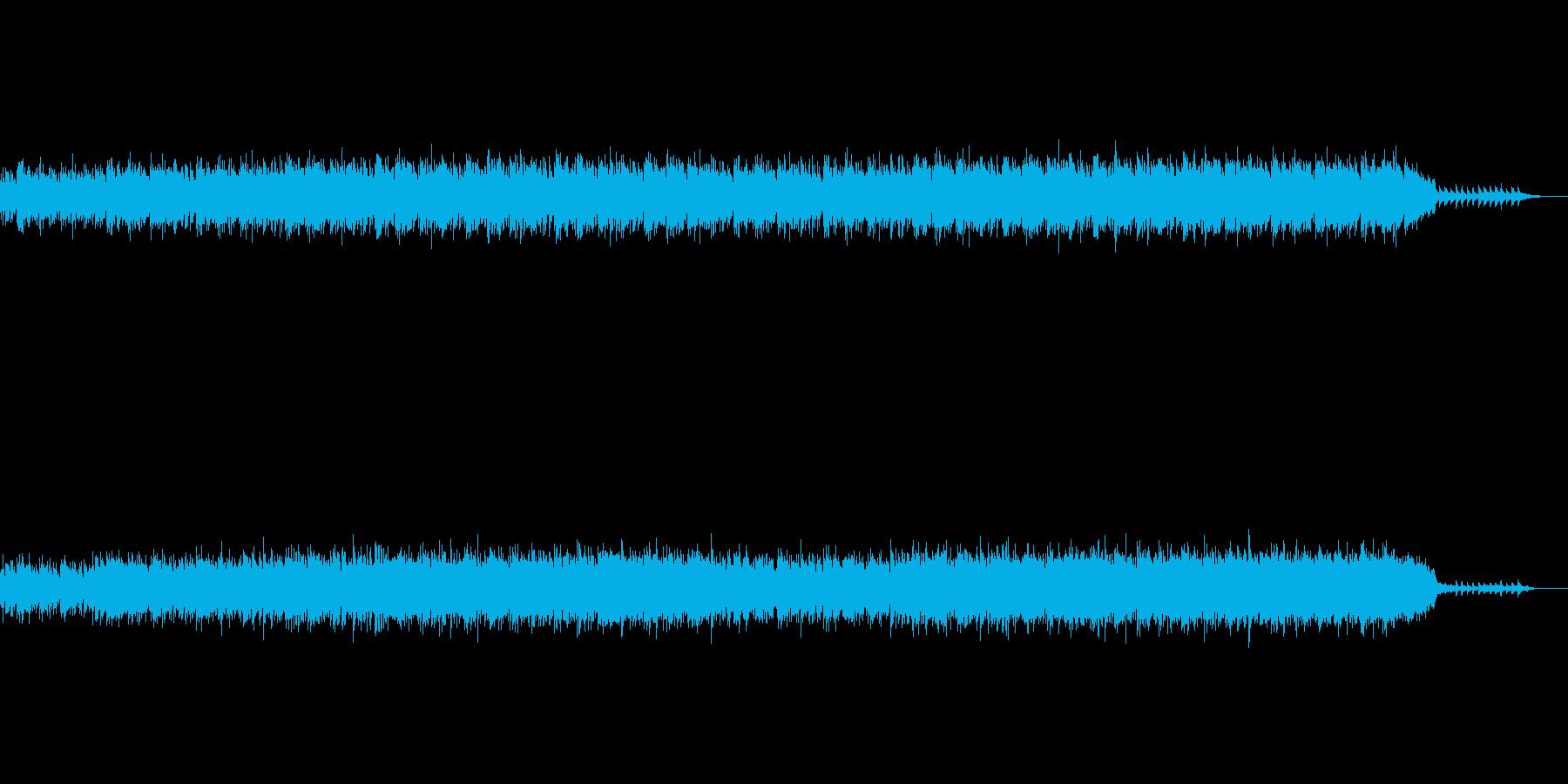 浮遊感のある演奏が印象的なアンビエントの再生済みの波形
