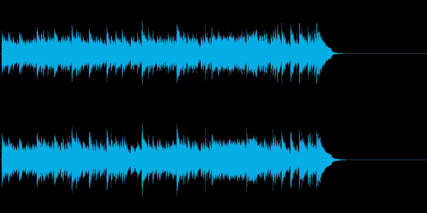 ムーディーなポップス(Aメロ)の再生済みの波形