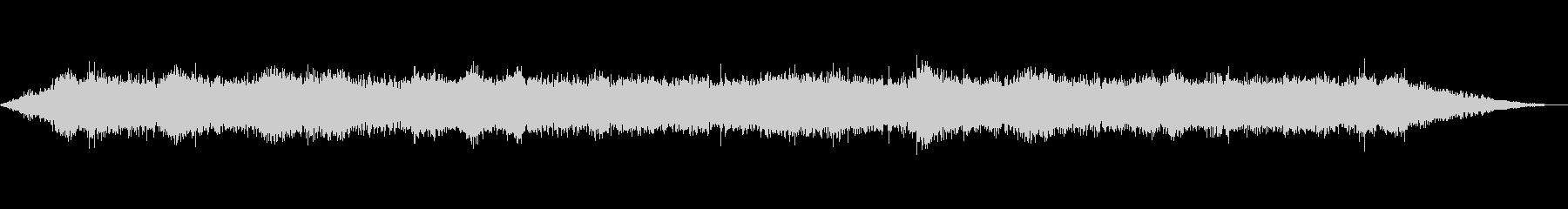 海 波 浜辺 海岸 カモメ等の環境音07の未再生の波形