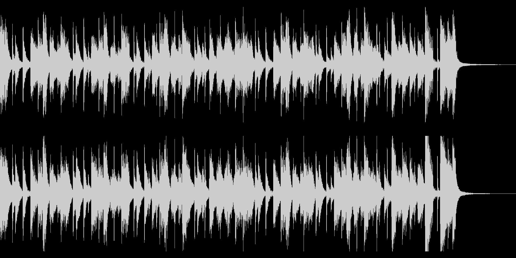 わくわくピアノジャズ(1回)の未再生の波形
