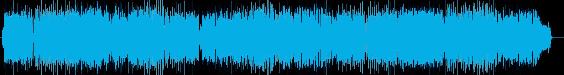 ノスタルジックなギターシンセポップの再生済みの波形