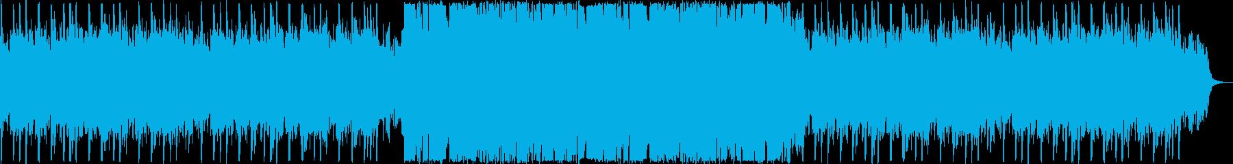 切ないシンセ・ピアノのサウンドの再生済みの波形