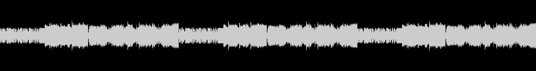 ファミコン音源の旋律が印象的なバラードの未再生の波形