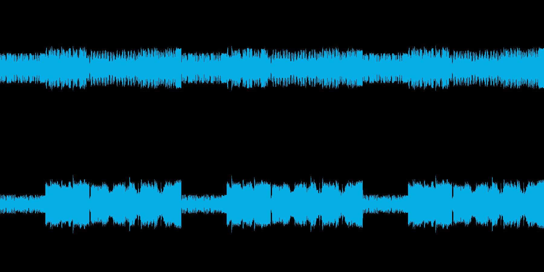 ファミコン音源の旋律が印象的なバラードの再生済みの波形
