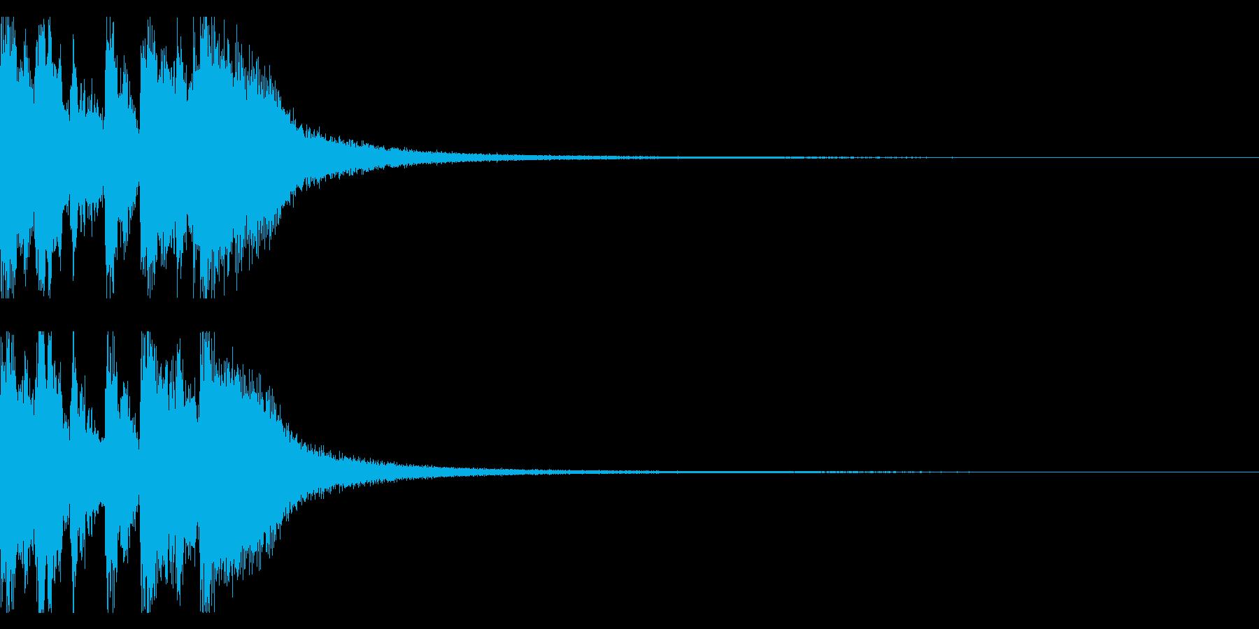 サックスのメロディがメインのジャズの再生済みの波形